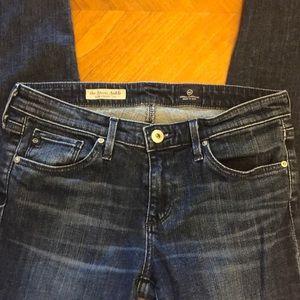"""AG's """"the Stevie ankle"""" Slim straight leg jeans"""